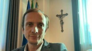 Massimiliano Fedriga é o principal porta-voz do movimento antivacinas na Itália.