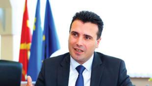 Zoran Zaev, Premier ministre macedonien.