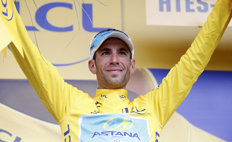 Vincenzo Nibali, vencedor da Volta a França em Bicicleta 2014.