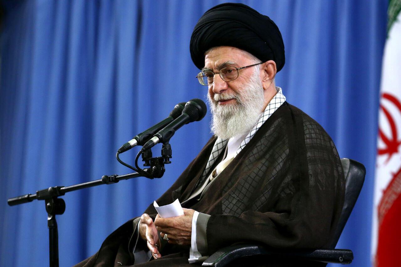 علی خامنه ای رهبر حکومت اسلامی ایران