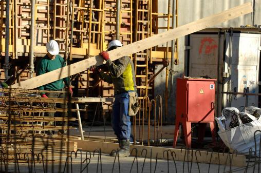 A Paris building site