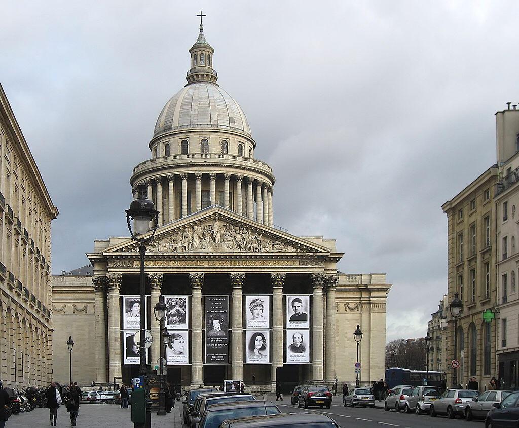 Le Panthéon, à Paris, dans le Ve arrondissement.