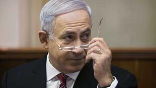 El primer ministro israelí Benjamin Netanyahu. Jerusalén, el 3 de julio de 2011.