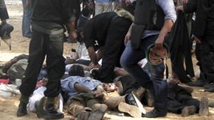 埃及政府2013年8月14日对占据首都开罗两大广场数周的示威人士武力清场,造成700多人死亡