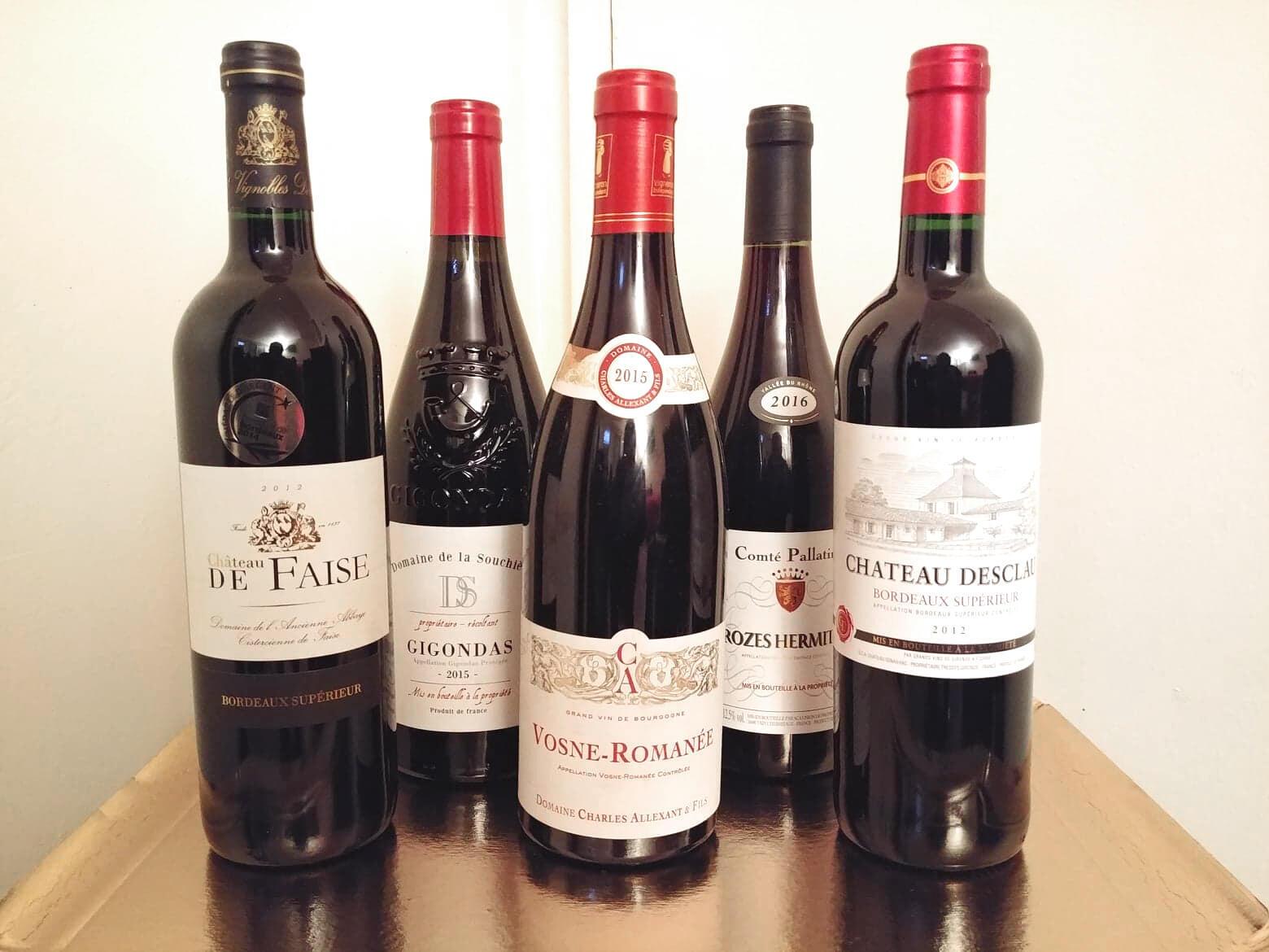 Mức xuất khẩu rượu vang Pháp đạt 4,5 tỷ euro, tăng 6% trong sáu tháng đầu 2019
