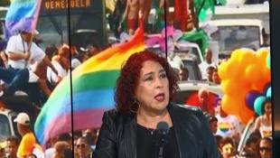 Tamara Adrían, abogada, primera diputada trans de la Asamblea Nacional de Venezuela en el programa Escala en París