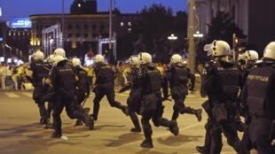 Un important dispositif de sécurité avait été déployé à Belgrade ce dimanche 29 mai 2011 en prévision de la manifestation. Au total 111 personnes ont été interpellées dont 37 mineurs a déclaré le ministre serbe de l'Intérieur Ivica Davic à la télévision.