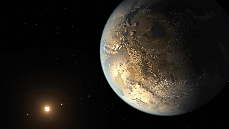 El exoplaneta Kepler 186 se encuentra a más de 500 años luz de la Tierra.