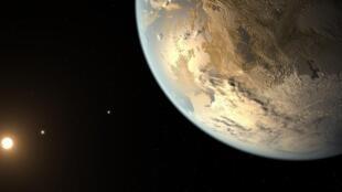 GJ 257d se trouve à 31 années-lumière de la Terre (image d'illustration).