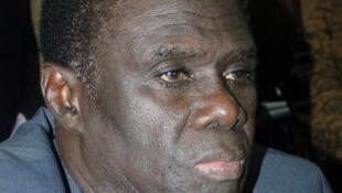 O Presidente de transição do Burkina Faso, Michel Kafando.
