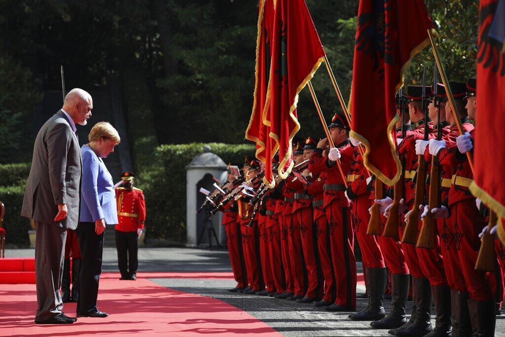 Merkel - Albanie
