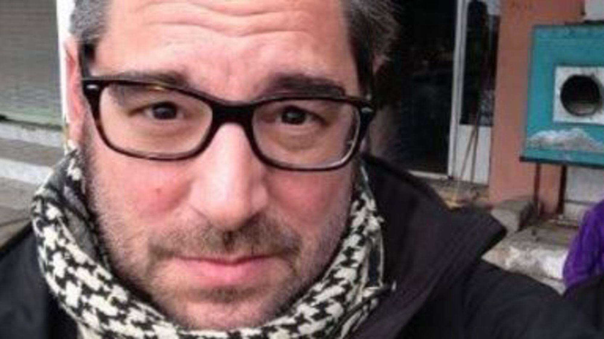 O jornalista francês Stéphan Villeneuve, morto em Mossul.