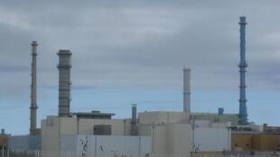 La Hague nuclear-waste processing plant