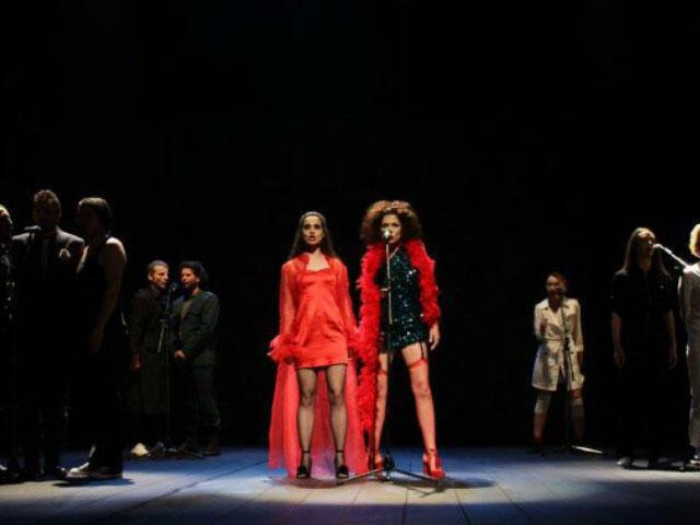 Photo de la représentation.