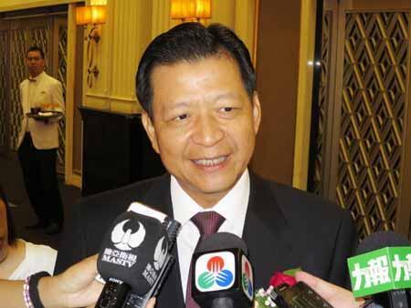 台湾新任驻港代表卢长水无法履新,2018年8月31日。