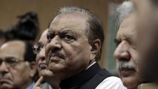 Mamnoon Hussain, presidential candidate of the PML-N party