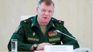 俄羅斯國防部發言人科納申科夫資料圖片