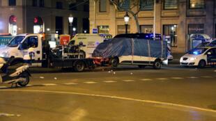 Le mode opératoire de l'attentat de Barcelone est similaire à celui de Berlin, le 19 décembre 2016.