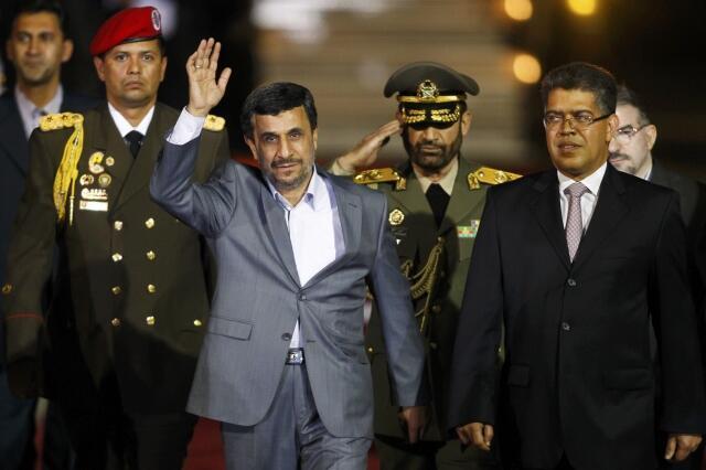 سفر محمود احمدی نژاد رئیس جمهوری ایران به ونزوئلا