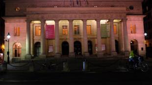 L'Odéon -Théâtre de l'Europe, à Paris, en janvier 2021. © Siegfried Forster / RFI