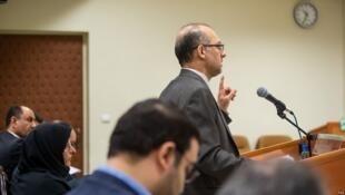 رضا حمزهلو، مدیرعامل سابق شرکت بازرگانی پتروشیمی و متهم ردیف اول پرونده