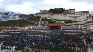 西藏布達拉宮 2011年 資料照片