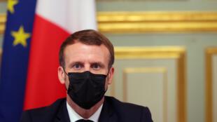 Emmanuel Macron, Presidente francês.