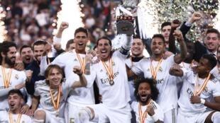 Tawagar kungiyar kwallon kafa ta Real Madrid.