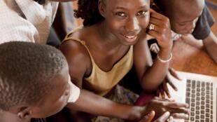 Des jeunes Maliens.