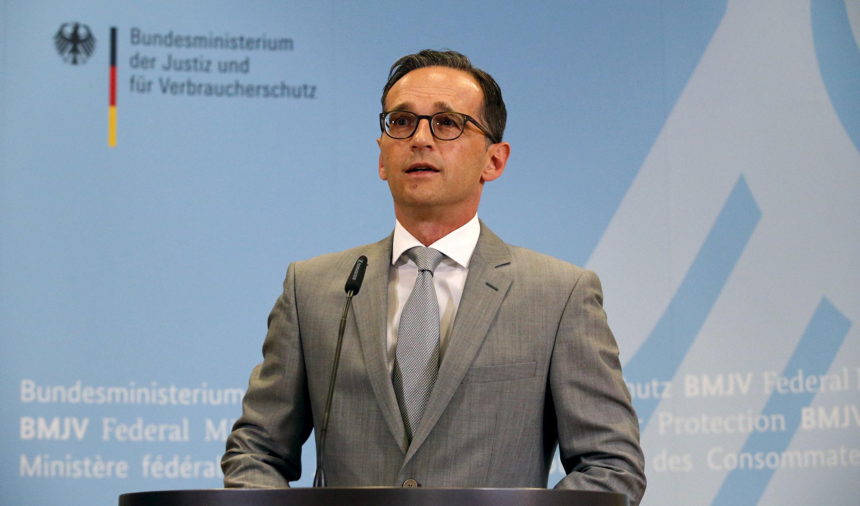 هایکو ماس وزیر امور خارجۀ آلمان.