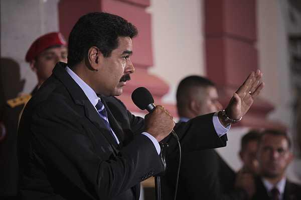 El presidente venezolano Nicolás Maduro, el 21 de abril en Caracas.