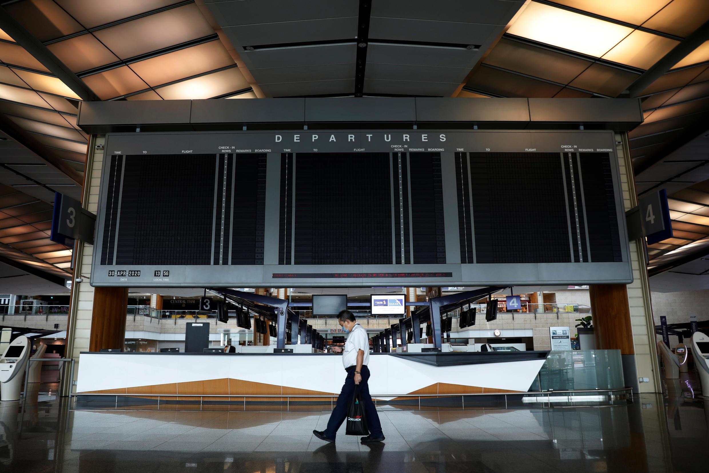 Sân bay quốc tế Changi, Singapore ngày 30/04/2020.