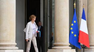 La ministre de la Défense Florence Parly, à sa sortie de l'Elysée après le Conseil des ministres, à Paris, le 27 septembre 2017.