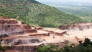 Mỏ đồng Monywa mà Miến Điện giao cho công ty Trung Quốc khai thác.