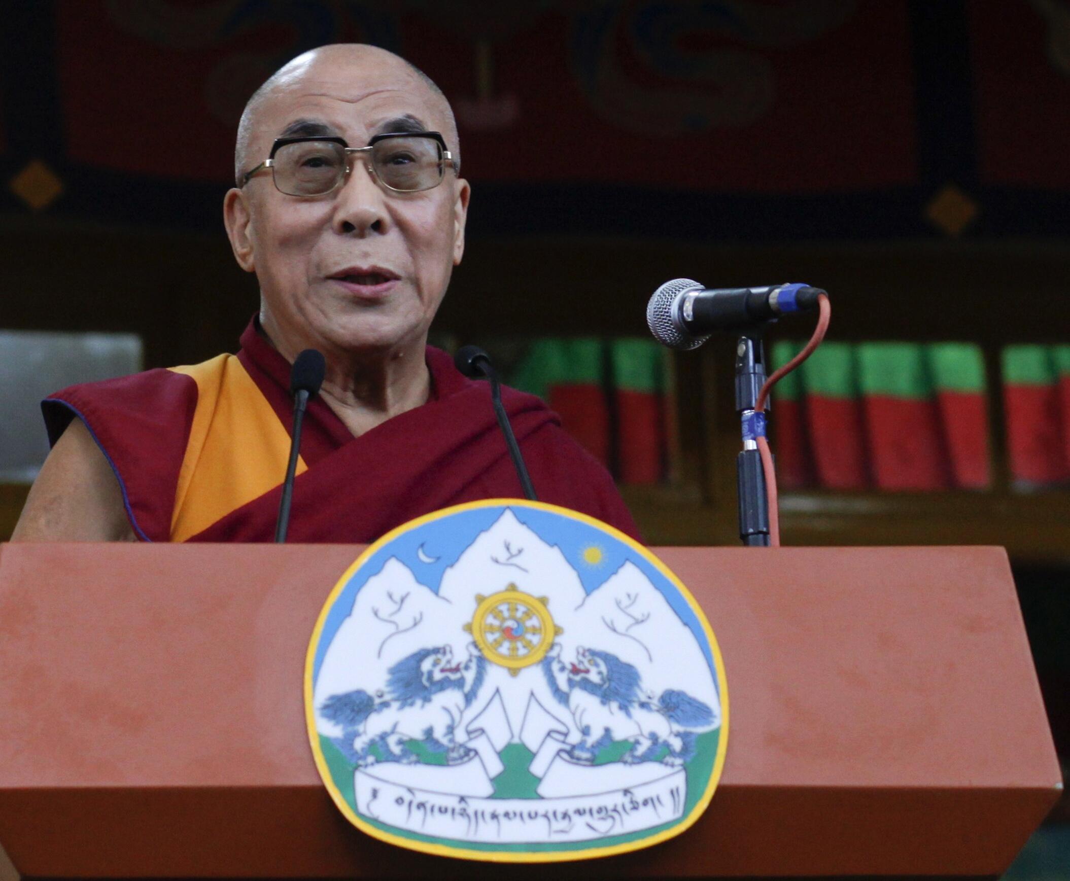 Dalai Lama participará de evento neste fim de semana no sudoeste francês.