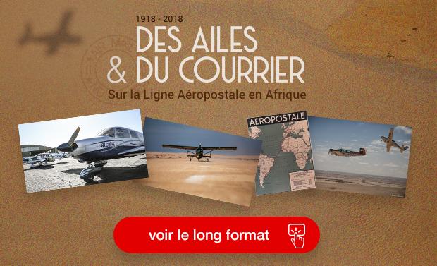 Des ailes et du courrier: sur la Ligne Aéropostale en Afrique.