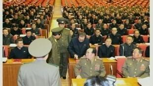 Ông Jang Song Thaek bị bắt ngay trong Hội nghị trung ương đảng Lao Động Triều Tiên.