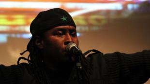 """Le rappeur sénégalais Didier Awadi est au centre du documentaire """"Les Etats-Unis d'Afrique, au-delà du hip-hop"""" du Québécois Yanick Létourneau."""