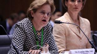澳大利亚外交部常务副部长、前驻华大使孙芳安资料图片