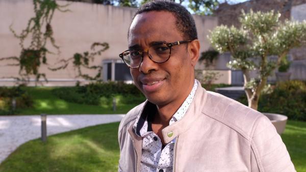 Le lauréat de la 7e édition du prix RFI Théâtre Souleymane Bah, alias Soulay Thiâ'Nguel. « C'est mon nom de plume, mais depuis que je suis en France, les gens me connaissent sous le nom de Souleymane Bah. »