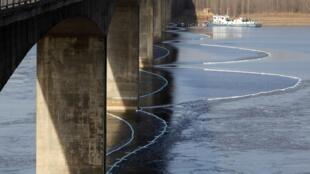 中國河流污染