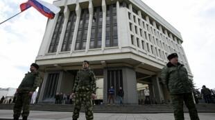 Parlamento da Crimeia aprova proposta de adesão à Rússia
