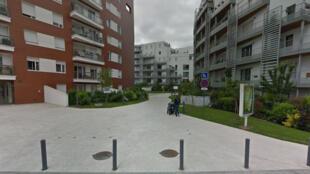 Une rue du quartier du Fort, à Issy-les-Moulineaux.