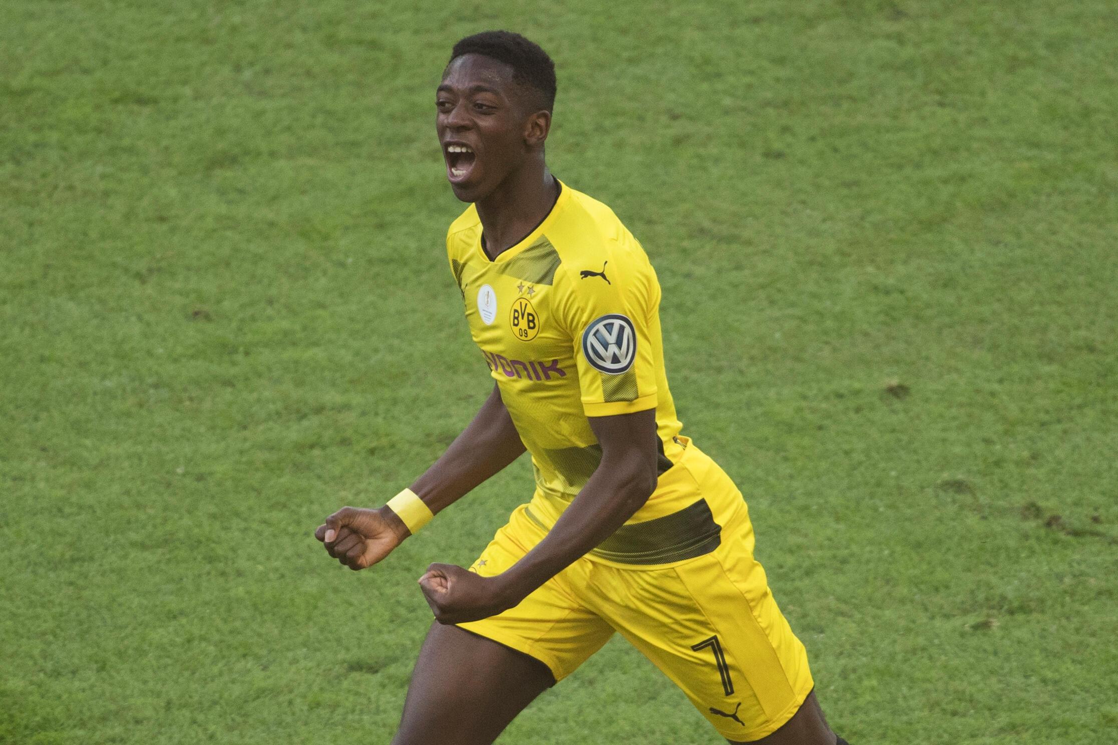 Le jeune Ousmane Dembélé posera bientôt sous ses nouvelles couleurs: celles du FC Barcelone.