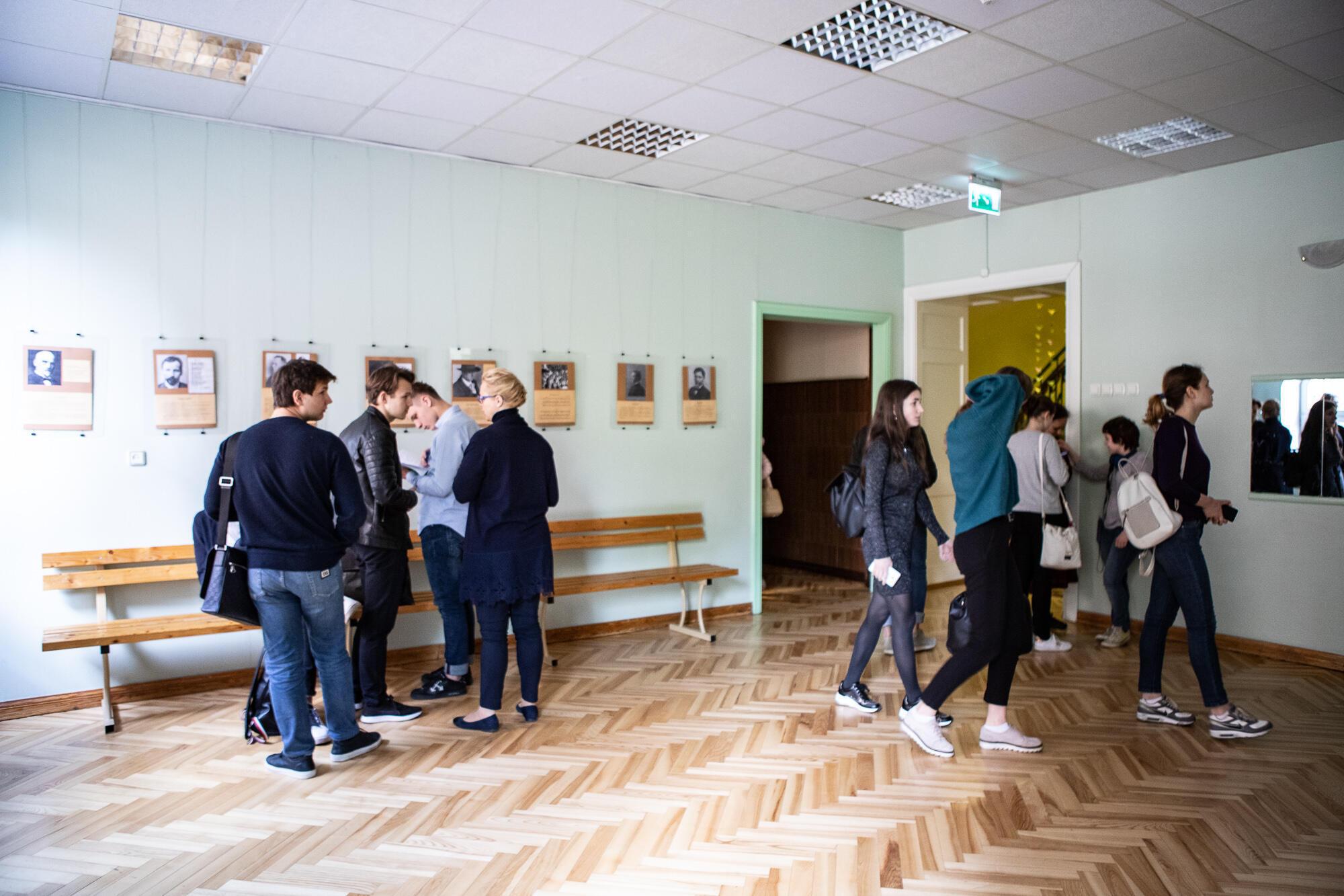 Ученики 40-й средней школы Риги. Май 2019 г.