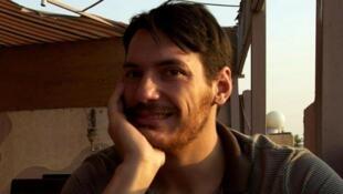 Le journaliste américain Austin Tice, disparu en 2012 en Syrie.
