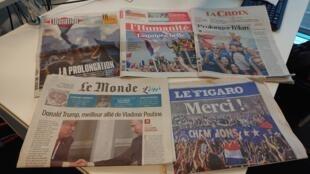 Diários franceses 17.07.2018