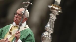 Le pape François lors du synode sur la famille.
