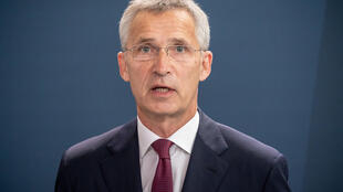 NATO Secretary General Jens Stoltenberg (pictured August 2020) repeated the alliance's longstanding position that it will end its mission in Afghanistan only when conditions on the ground permit