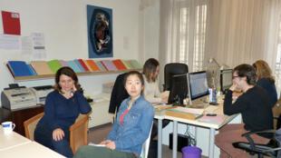 Jing tại văn phòng VAP.